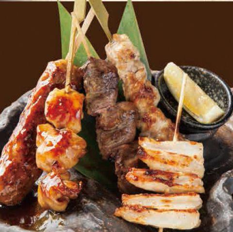 串焼きセット(5本)